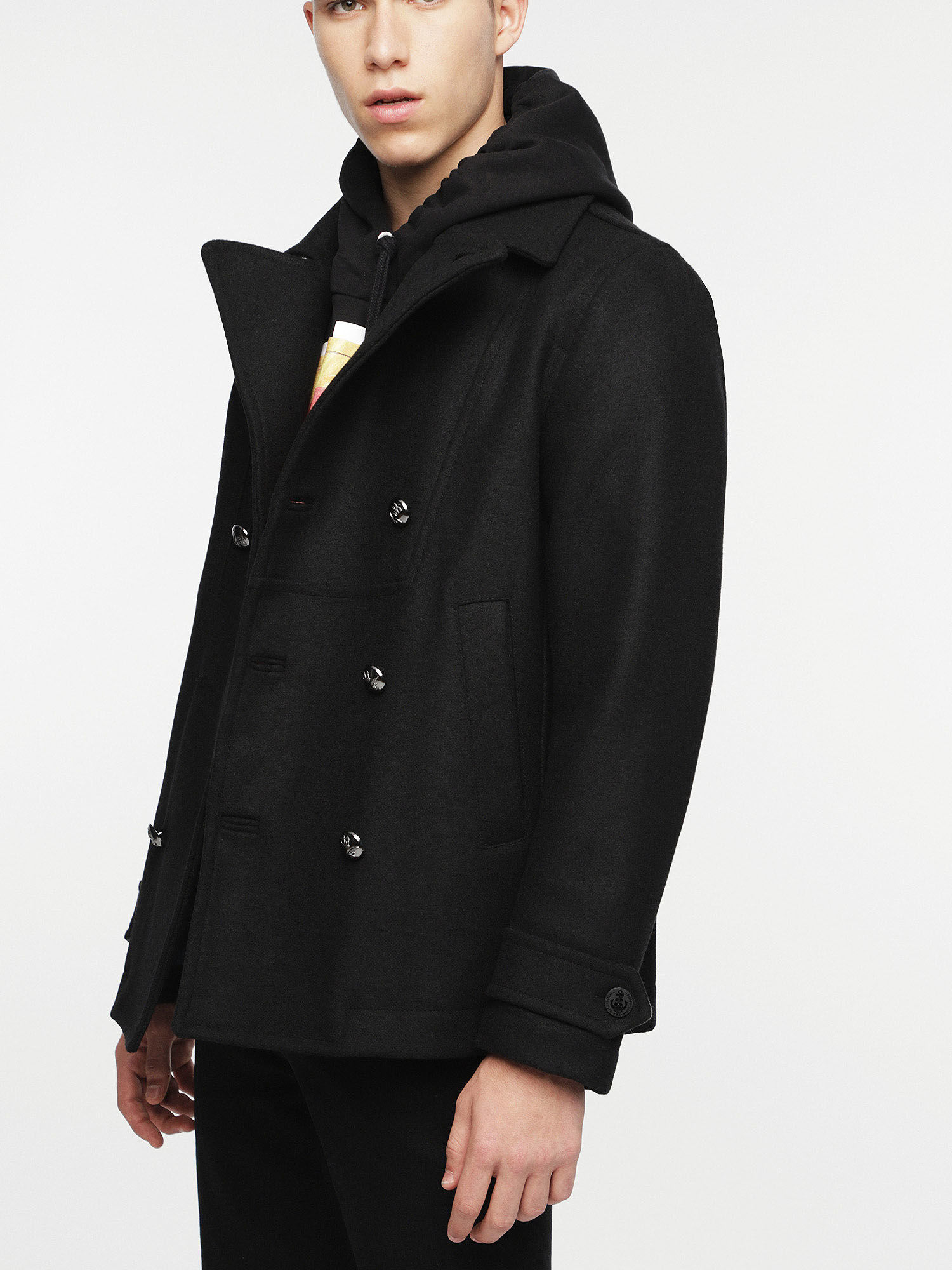 Winter jacket with teddy lining