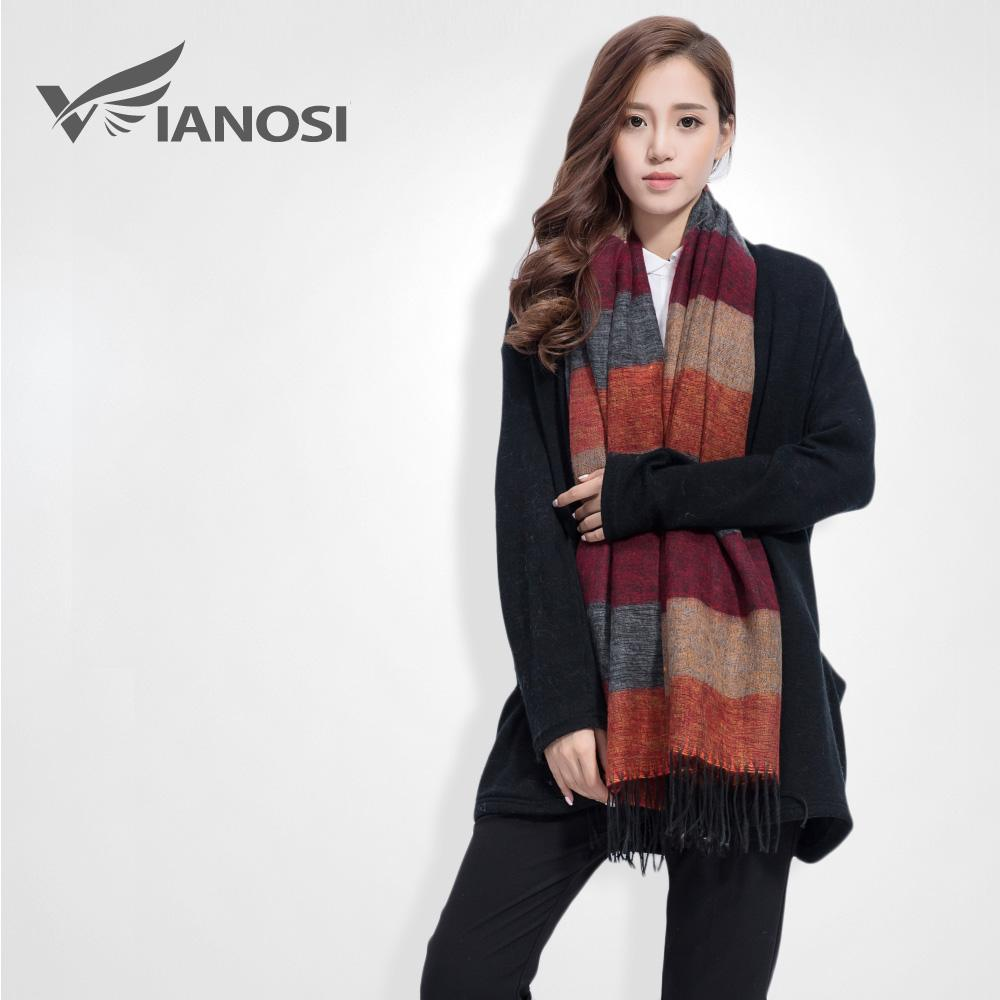 Winter scarves for women vianosi fashion brand winter scarf women designer pashmina shawls and  scarves soft foulard YDSIUKO