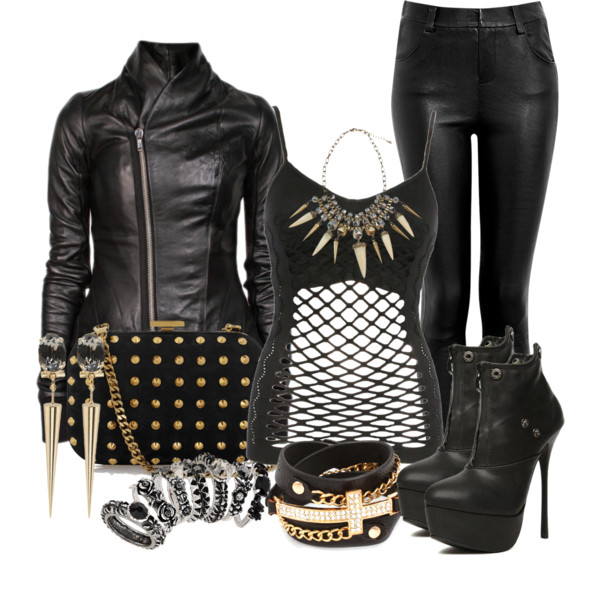 Women's Biker Outfits women biker fashion ideas (1) QKACYXL