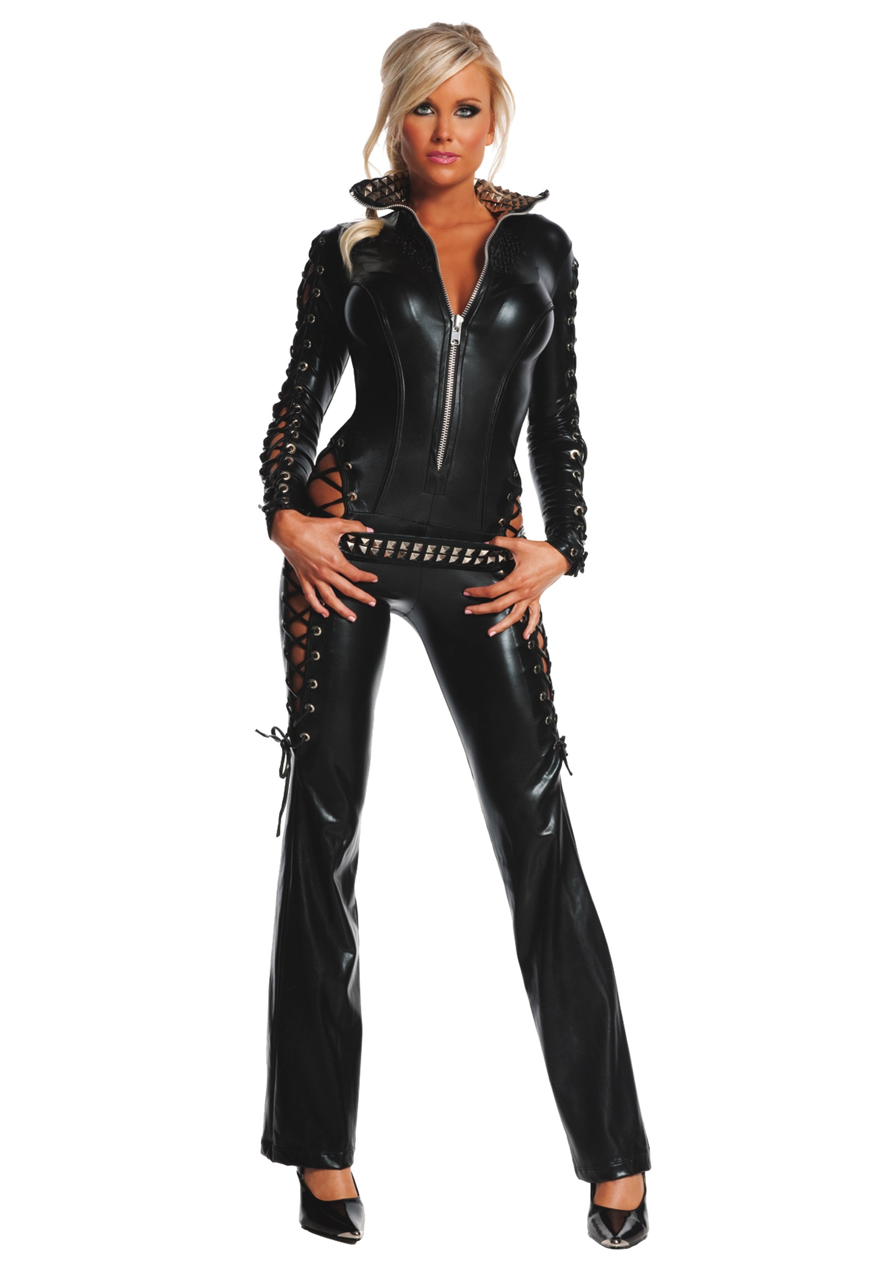 Women's Biker Outfits womens rebel costume KKHMNQJ