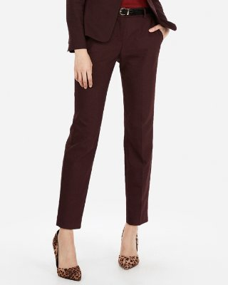 Women's Business Trousers express view · mid rise ankle columnist pant NRGRSOK