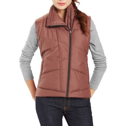 Women's Down Vest product image for solar plaid WZJNDVX