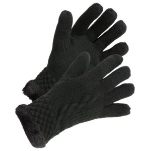Women's Gloves natural reflections cable knit gloves TZWCKNM