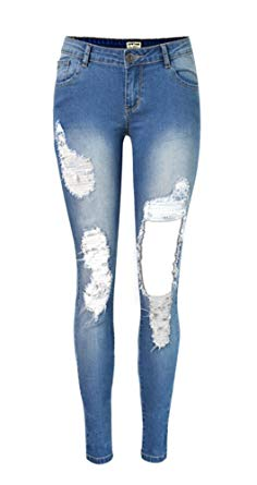 Women's Used Look Jeans – Fashionable variety of women's jeans