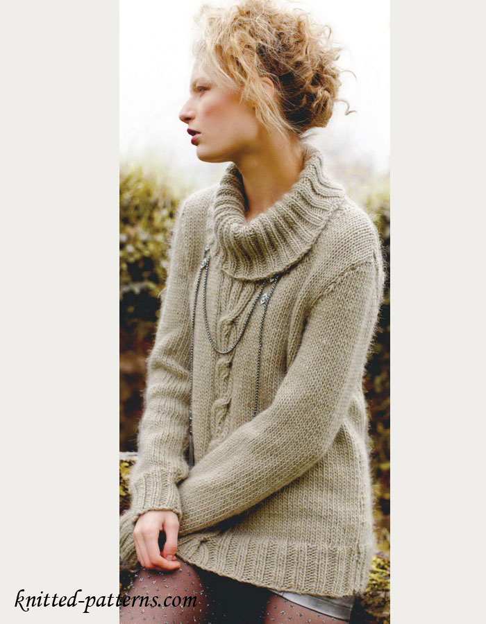 Womens Knit Sweaters free knitting patterns womens sweaters CPNIPLD