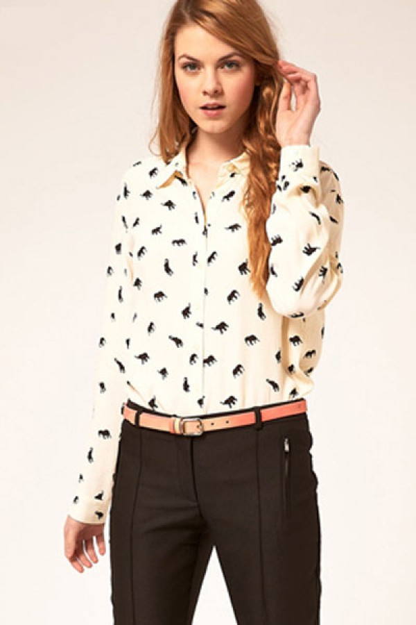 The print shirt for women: expressive fashion that inspires