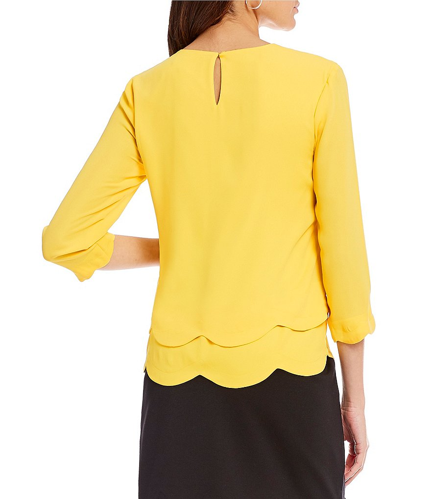 Yellow like the sun – the colorful yellow blouse