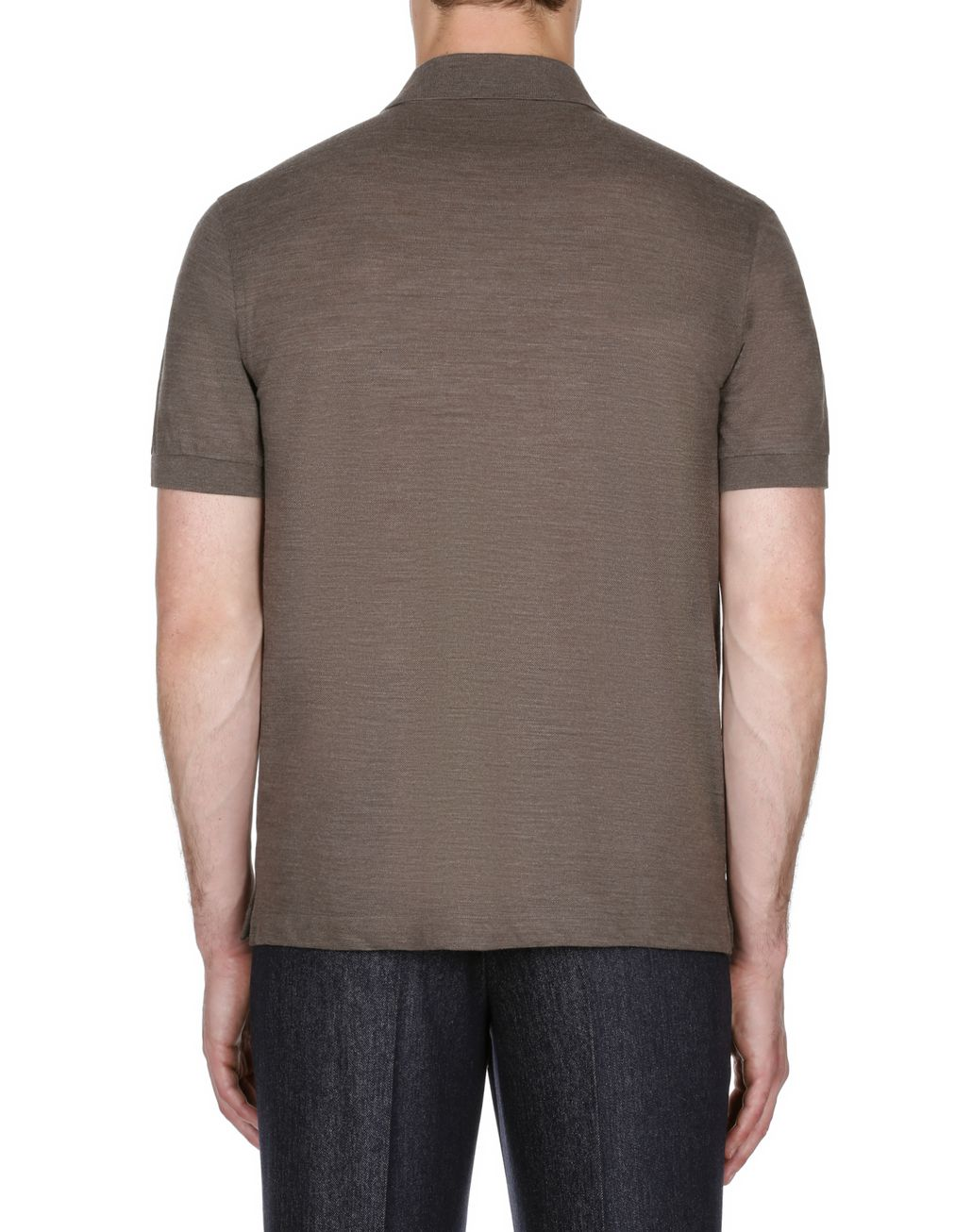 Zipped T-shirts brioni brown zipped polo shirt t-shirts u0026 polos man d YYDBFQT