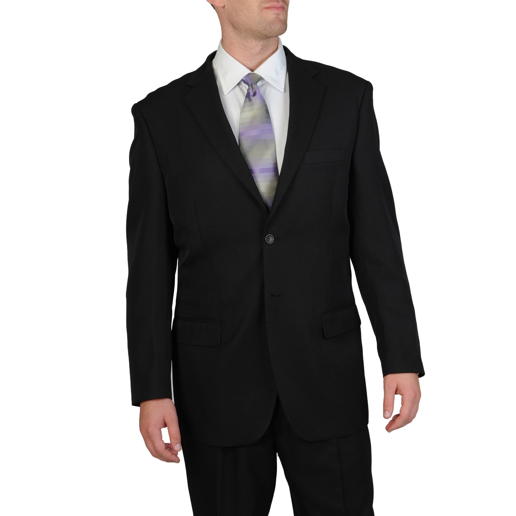 Shop Bolzano Uomo Collezione Men's Classic 2-button Suit - Free Shipping  Today - Overstock.com - 7472183