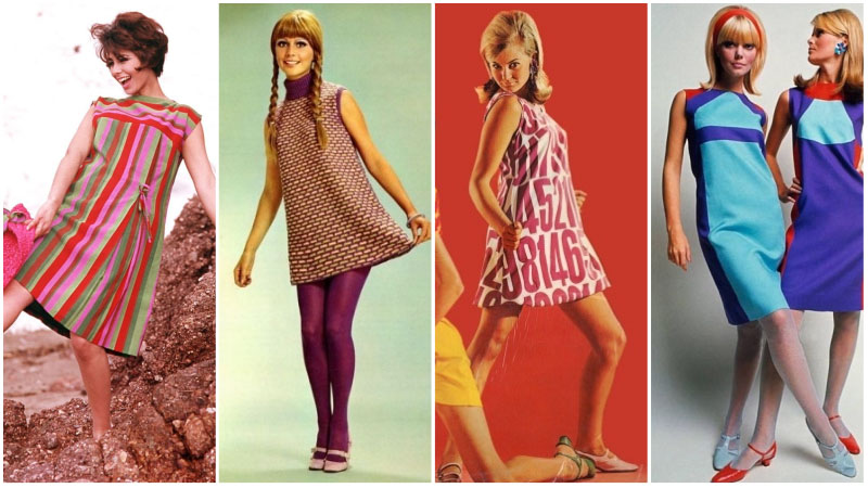 60s Style Shift Dresses
