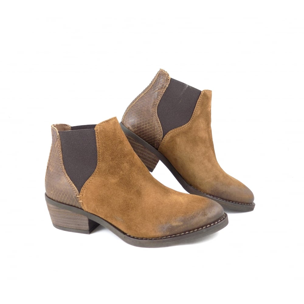 Alpe 3460 Western Style Chelsea Boot