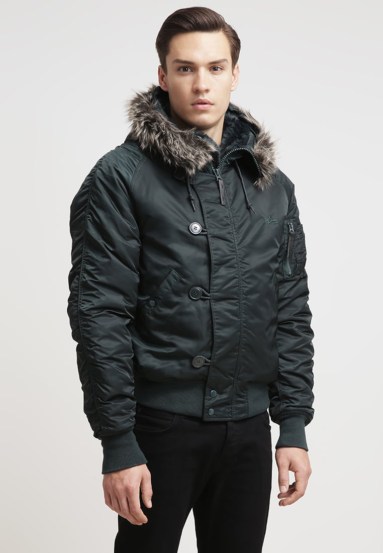 Alpha Industries Winter jacket - dark petrol Men Clothing Jackets
