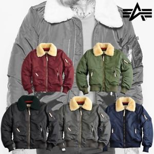 Image is loading Alpha-Industries-Men-039-s-Jacket-Injector-III-