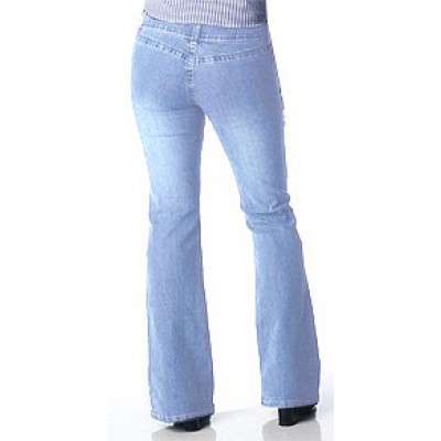 Angels Back Pocketless Light Jeans