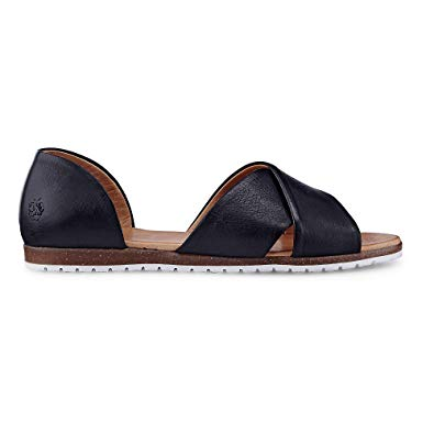 Apple of Eden Women's Fashion Sandals Black Size: ...