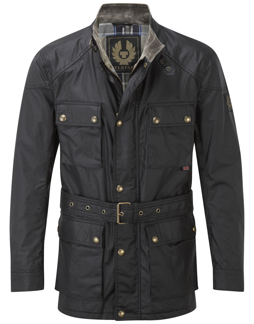 Belstaff Men's Roadmaster Waxed Jacket - Black ...