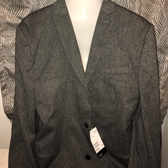 H&M Suits & Blazers | Mens Hm Gray Blazer Coat Size 50 New With Tags