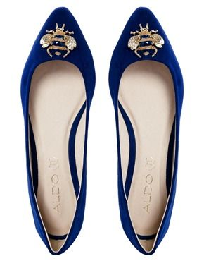 ALDO Blue Ballerina Shoes Ballerina Shoes, Fashion Now, Kinds Of Shoes, Bee  Bee