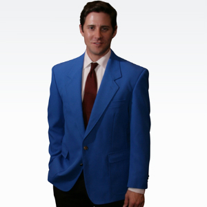 Mens Royal Blue Blazer