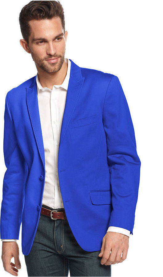 ... Blue Blazers INC International Concepts Truman Slim Fit Blazer ...