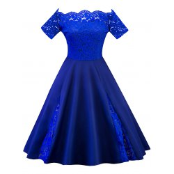 Wholesale Plus Size Lace Party Dress 5xl Royal Blue Online. Cheap Plus Size  Summer Dress And Plus Size Black Sheath Dress on Rosewholesale.com
