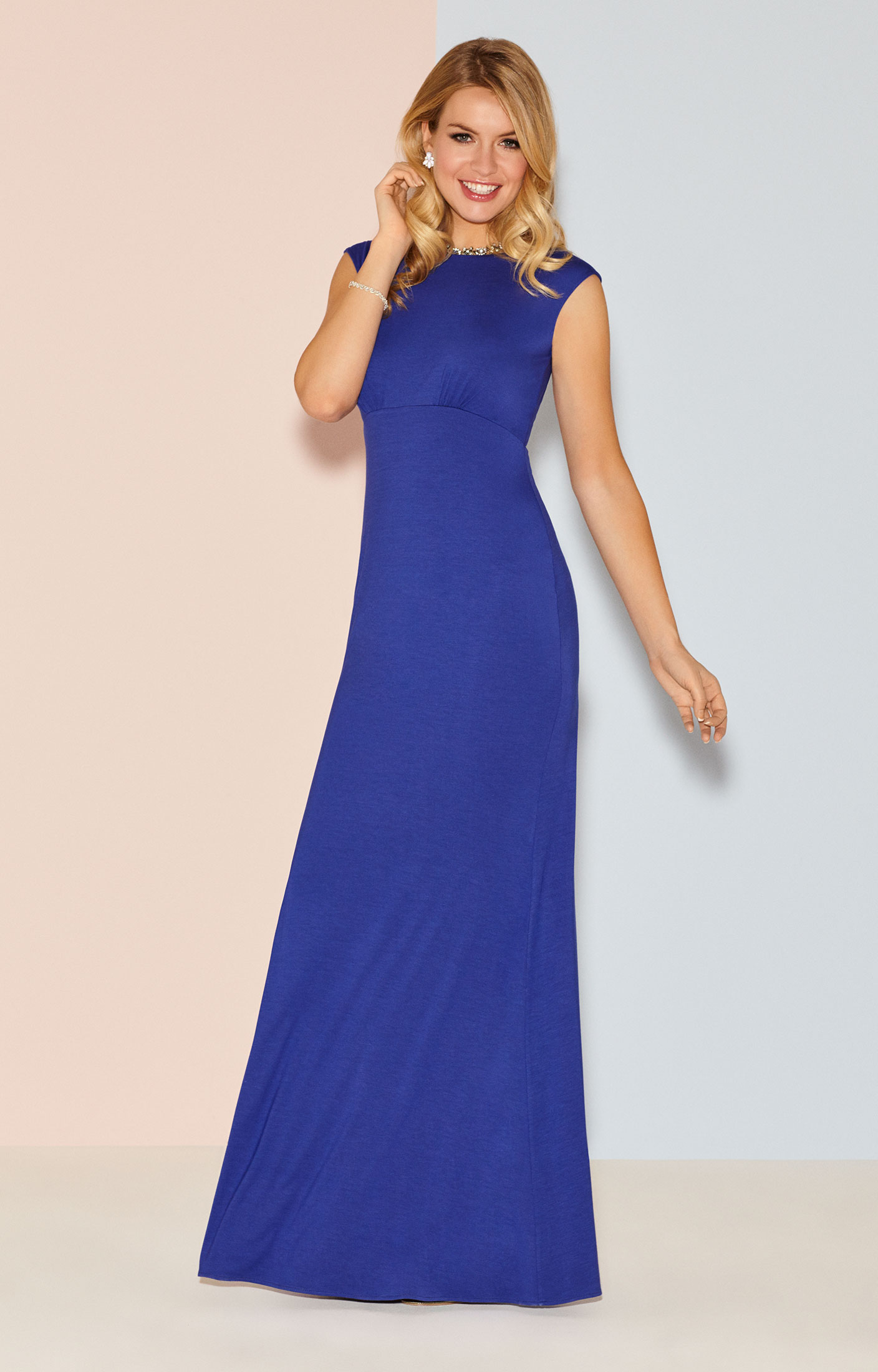 ... Pippa Evening Gown Long Royal Blue by Alie Street