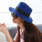 Blue Hats for women – To combine a hat in blue magically