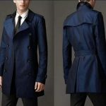 Blue men's coats – Stylish and elegant through the cold season