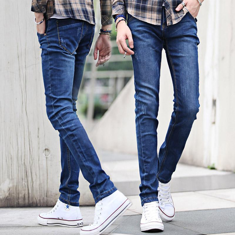 2019 New 2015 Men'S Jeans Stretch Jeans Blue Jeans Slim Washed Jeans From  Yoursjeans, $30.46 | DHgate.Com