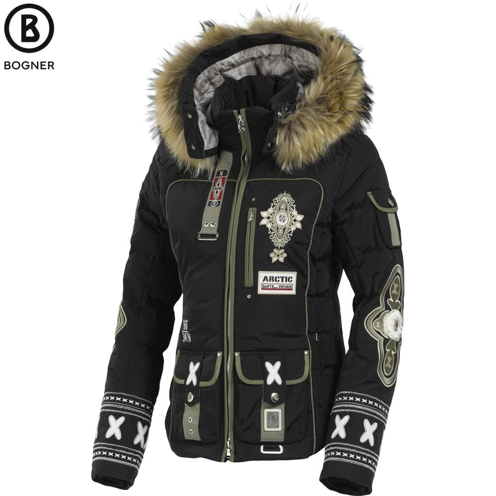 Bogner Pira-D Down Ski Jacket with Fur (Women's)