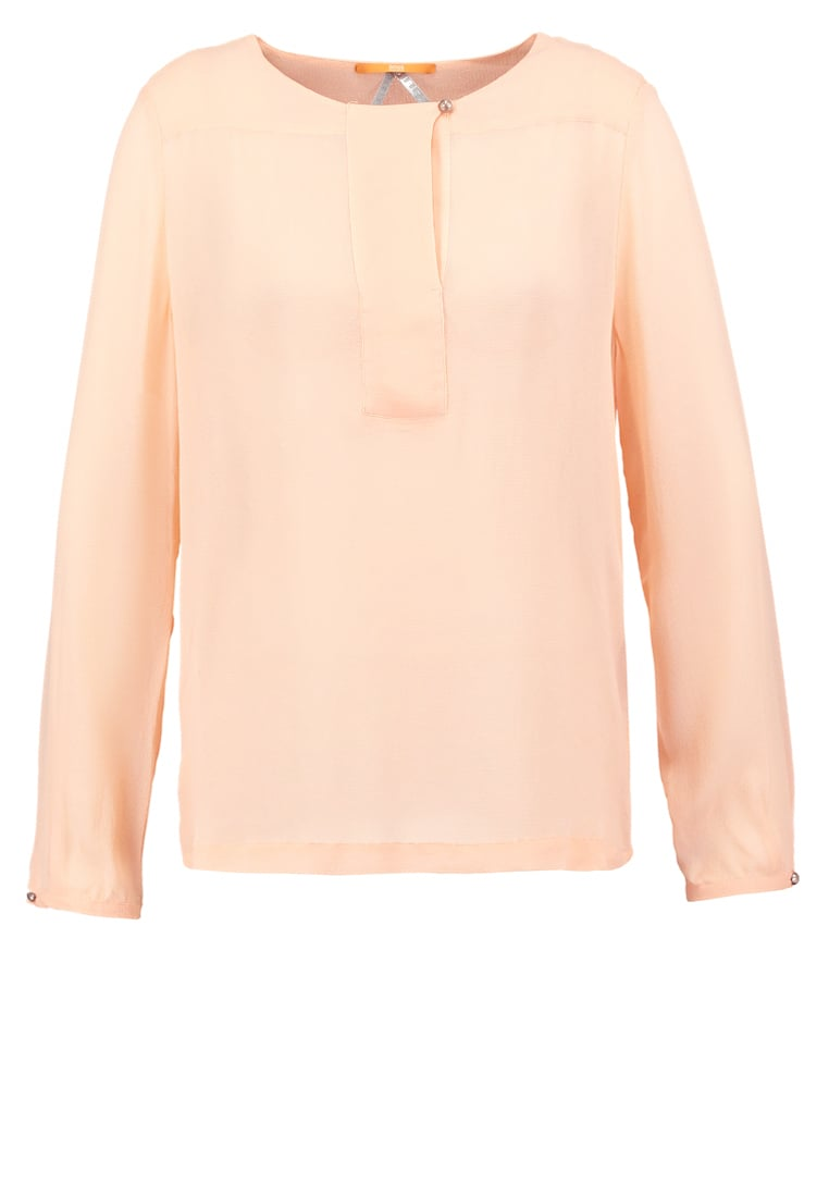 BOSS Orange Women Blouses u0026 Tunics ESTIVAL - Blouse - light pastel  orange,hugo boss jeans maine,hugo boss shirts sharp fit,Online Store