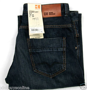 Image is loading Hugo-Boss-Jeans-Orange-49-Downtown-Comfort-Fit-