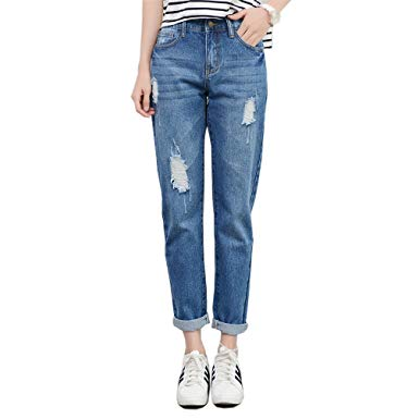 Boyfriend Jeans for Women – casual and elegant with accessories combine