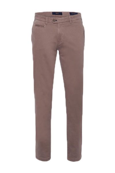 BRAX Menu0027s Everest Quantum Walnut Pima Chinos. Click to enlarge