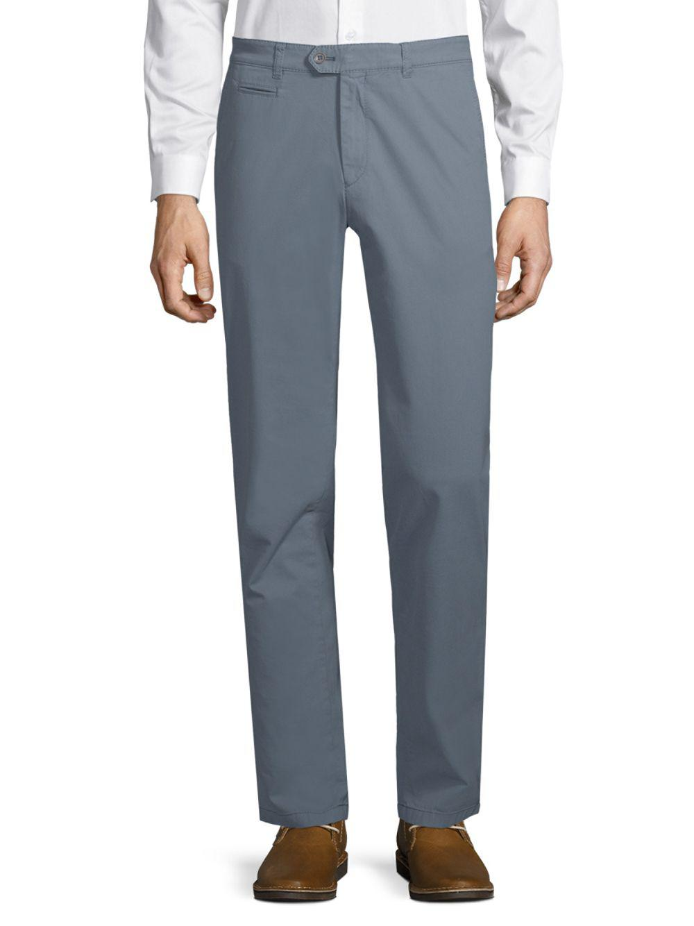 Brax. Menu0027s Gray Everest Stretch Cotton Chinos