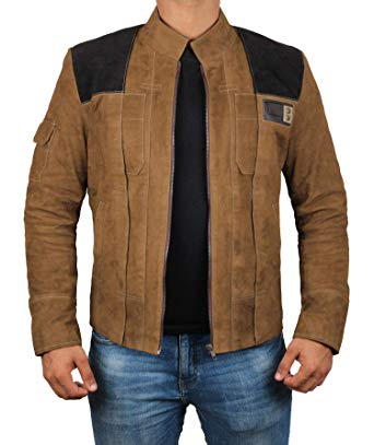 Brown Suede Jackets for Men - Genuine Leather Mens Jacket | XS