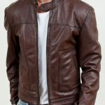 Brown men's jackets for cool streetstyles
