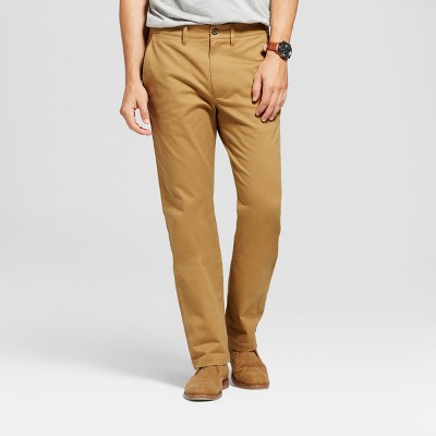 Men's Straight Fit Hennepin Chino Pants - Goodfellow u0026 Co™ Brown : Target