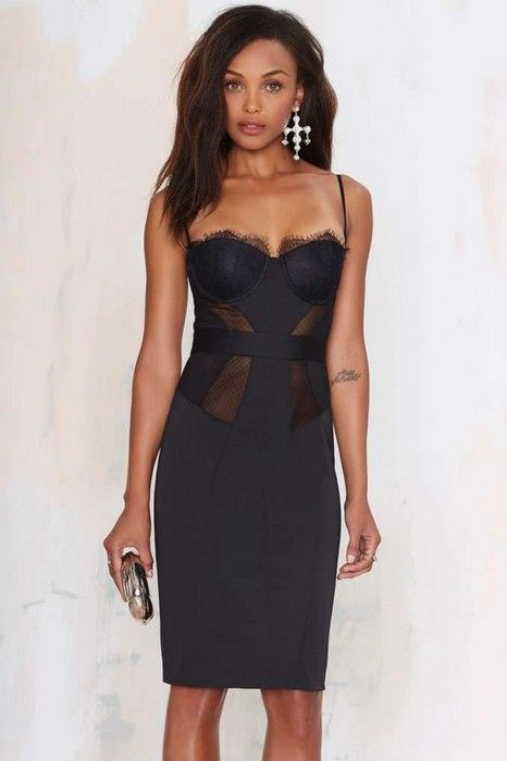 20 Looks with Bustier Dresses Glamsugar.com Bustier Dress