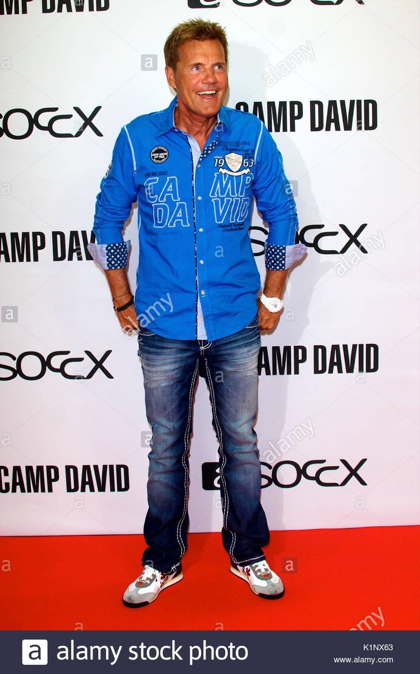 Camp David fashion party at Olympia Stadium in Berlin.