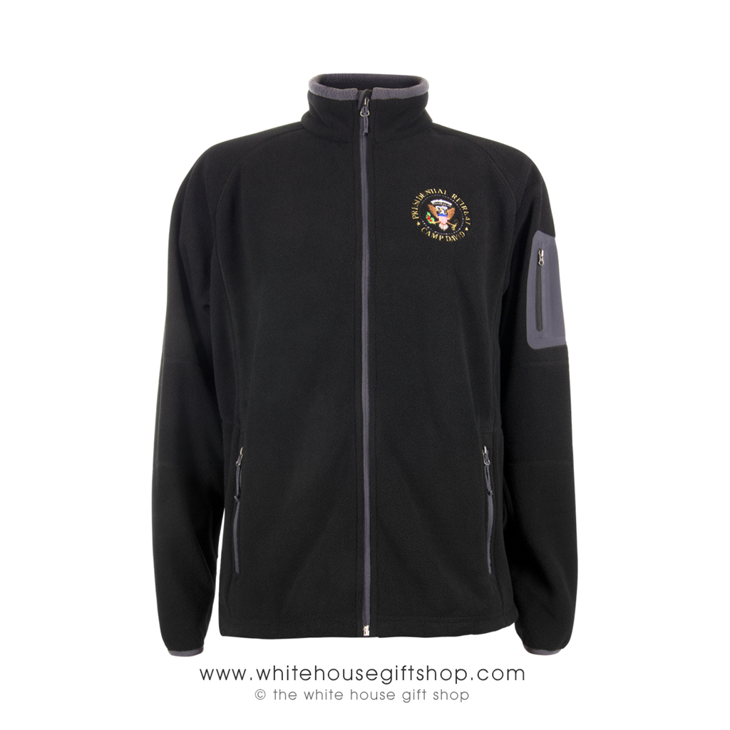The Camp David Presidential Retreat Fleece Jacket · Larger Photo Email A  Friend