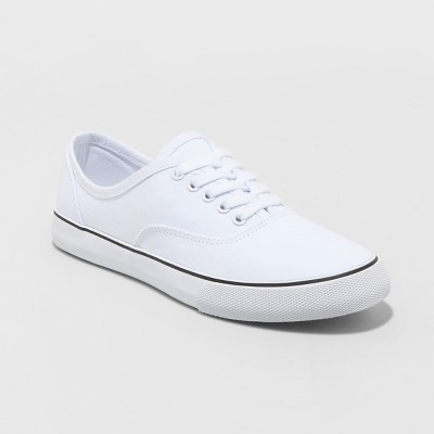 Women's Layla Lace up Canvas Sneakers - A New Day™