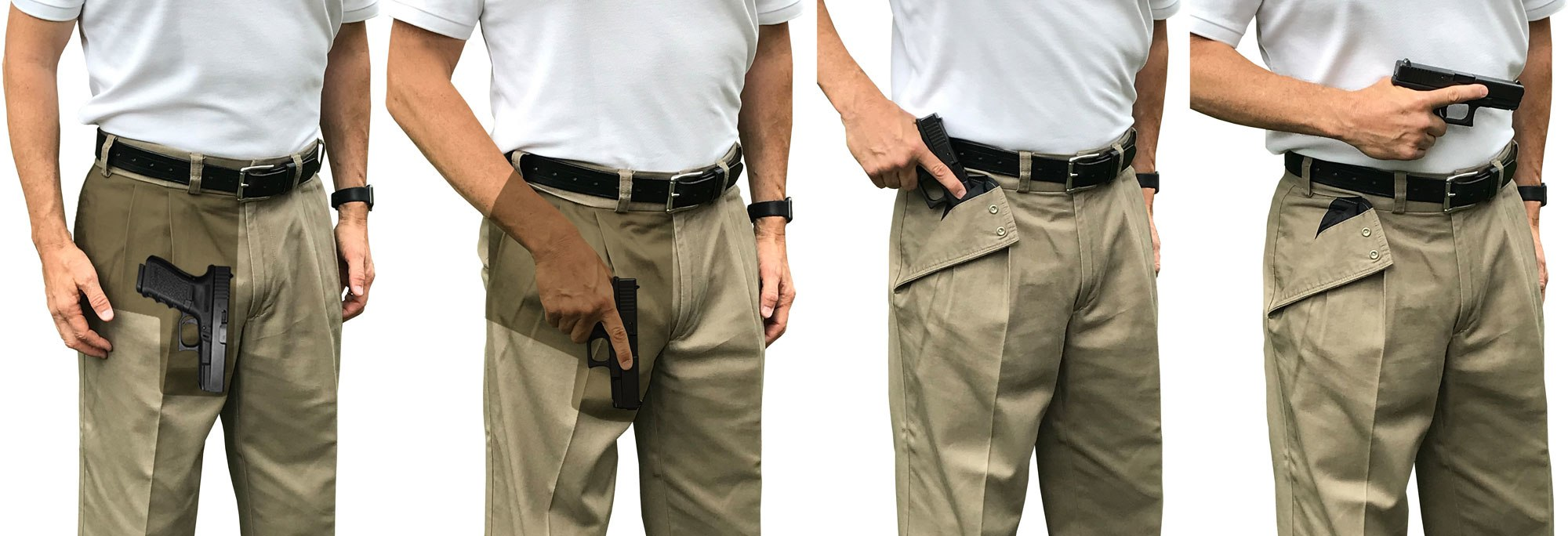 Concealed Carry Holsters and Concealed Carry Pants: Comfortable Deep Fast