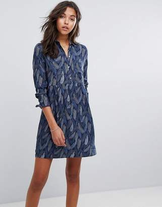 at ASOS Esprit Button Up Feather Dress