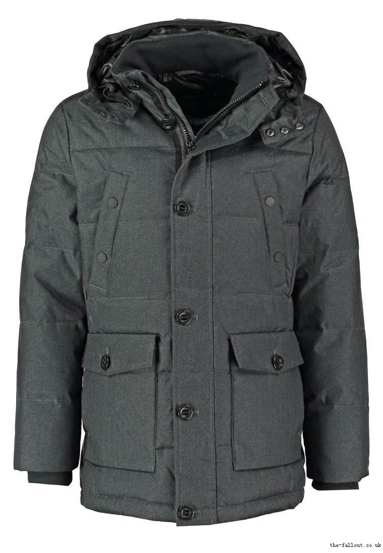 Esprit Down coat - dark grey - men's coats - 2064286