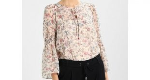 edc by Esprit Women FRILLY BLOUSE - Blouse - nude ED121E0BF
