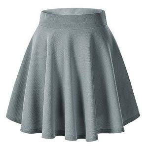 Feminine and basic flared skirt. Flared skirt for all seasons. Pull On  closure