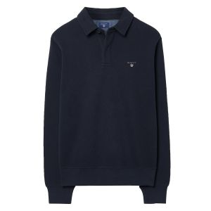 Sacker Ribbed Polo Sweater image