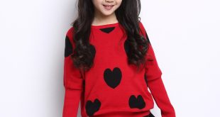 Get Quotations · sweater with dress 2015 children kids girls Sweaters coat  Autumn winter Fashion Pullovers knit kids clothing