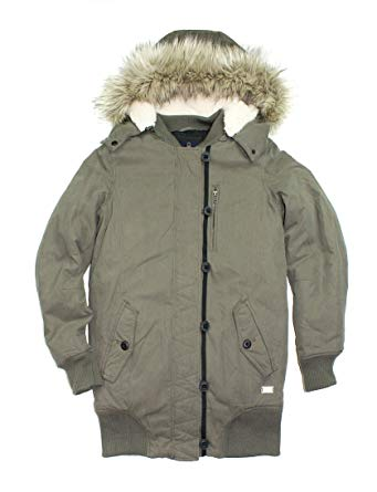 American Eagle Womenu0027s Convertible Parka Hooded Coat #2185 (SX, Olive)